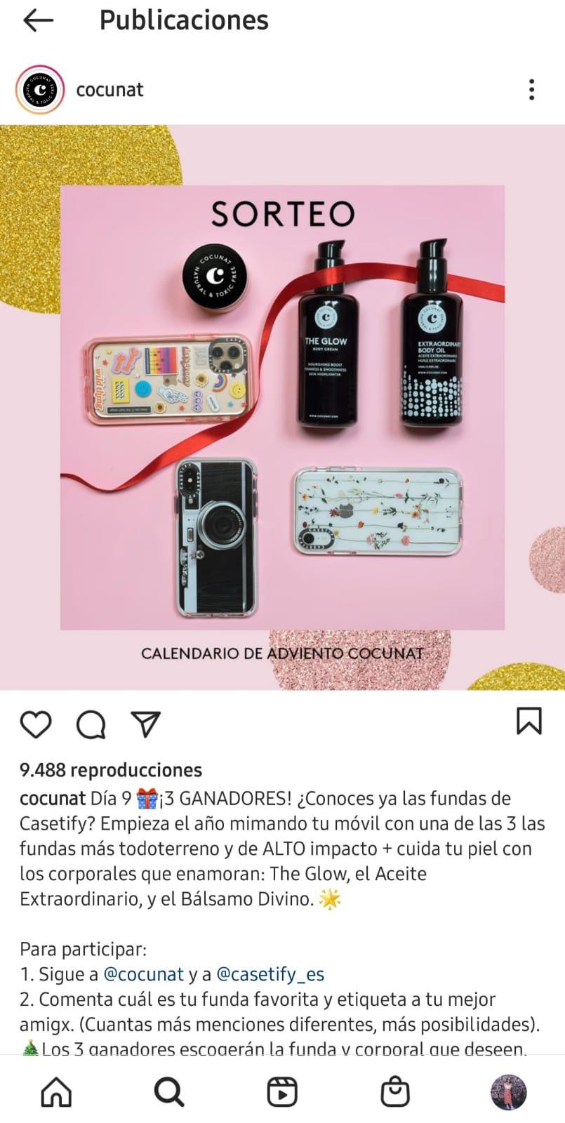 Instagram-Cocunat-marketing-navideño